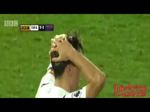 Swansea City vs Crystal Palace  5 4 All goals and Highlights  27112016