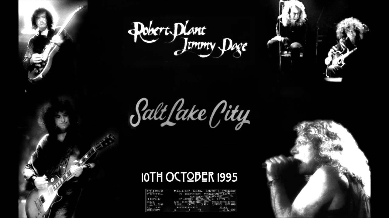 Resultado de imagen de Jimmy Page and Robert Plant 10/3/1995 Irvine, CA Blu-ray