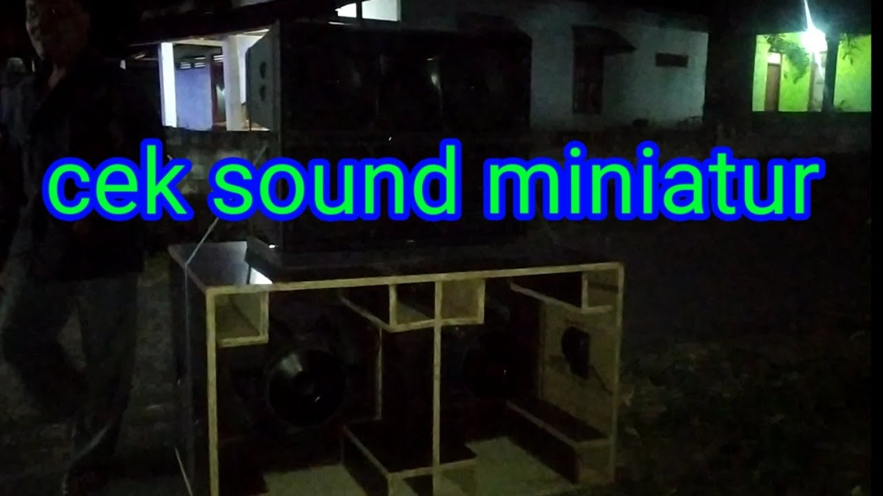 cek sound sub miniatur 2x15