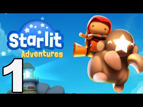 Starlit Adventures - Gameplay Walkthrough Part 1 - Stages 1-4 (iOS, Android)