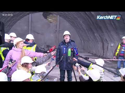 kerchnettv: Керчь: как строят железнодорожный тоннель