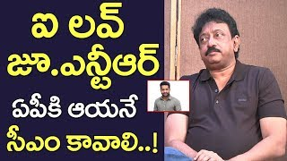 Ram Gopal Varma Great Words About Jr Ntr | Tollywood Heros | Exclusive Interview | Film Jalsa