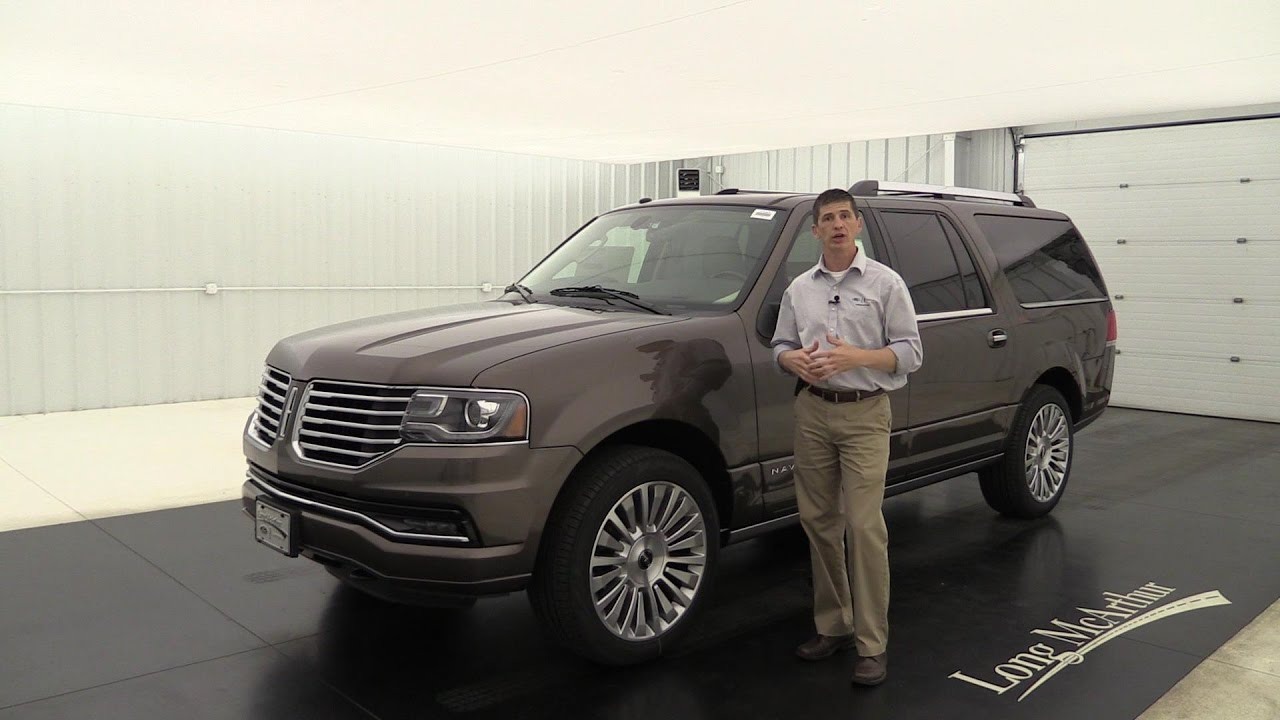 2017 lincoln navigator reserve 4x4 17140t youtube. Black Bedroom Furniture Sets. Home Design Ideas