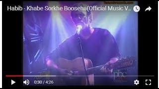 Habib - Khabe Sorkhe Booseha(Official Music Video)