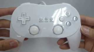 CLASSIC CONTROLLER PRO FOR NINTENDO WII / WII U WHITE