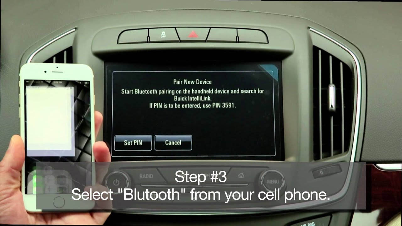 Buick Videos: How to Use IntelliLink Technology