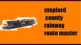 roblox SCR waterline class 166 greenslade to benton an quick route