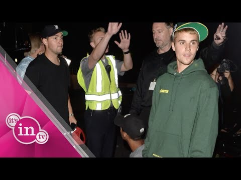 Justin Bieber fährt Fotografen an I Wir haben die Fotos!