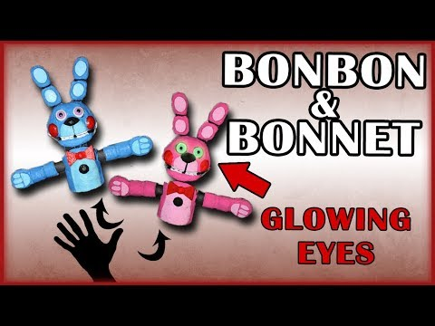 How to Make: Bonbon and Bonnet! (hand puppets)