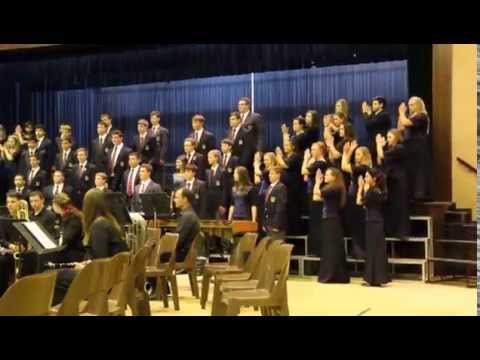 Bellville High School Choir at Fairmont 07.08.14