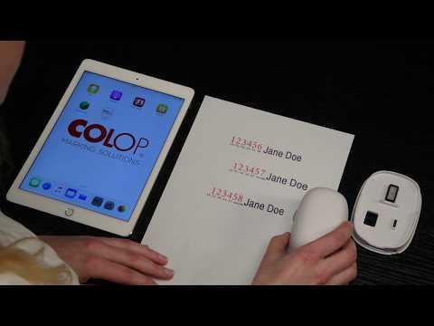 colop-e-mark-portable-colour-printer:-automatic-numbering