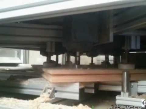 produktionsanlage unger diffutherm holzfaserd mmplatten. Black Bedroom Furniture Sets. Home Design Ideas