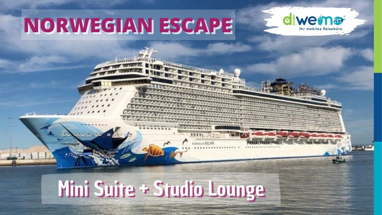 Norwegian Escape Von Norwegian Cruise Line Mini Suite