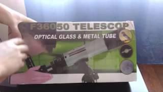 Распаковка и обзор телескопа F36050