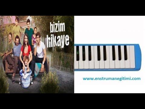 Melodika Eğitimi - Bizim Hikaye Dizisi Müziği Melodika Notaları -Çağatay