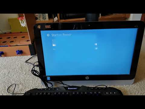 How To Restore HP All-In-One Windows PC Back To Factory Setting!