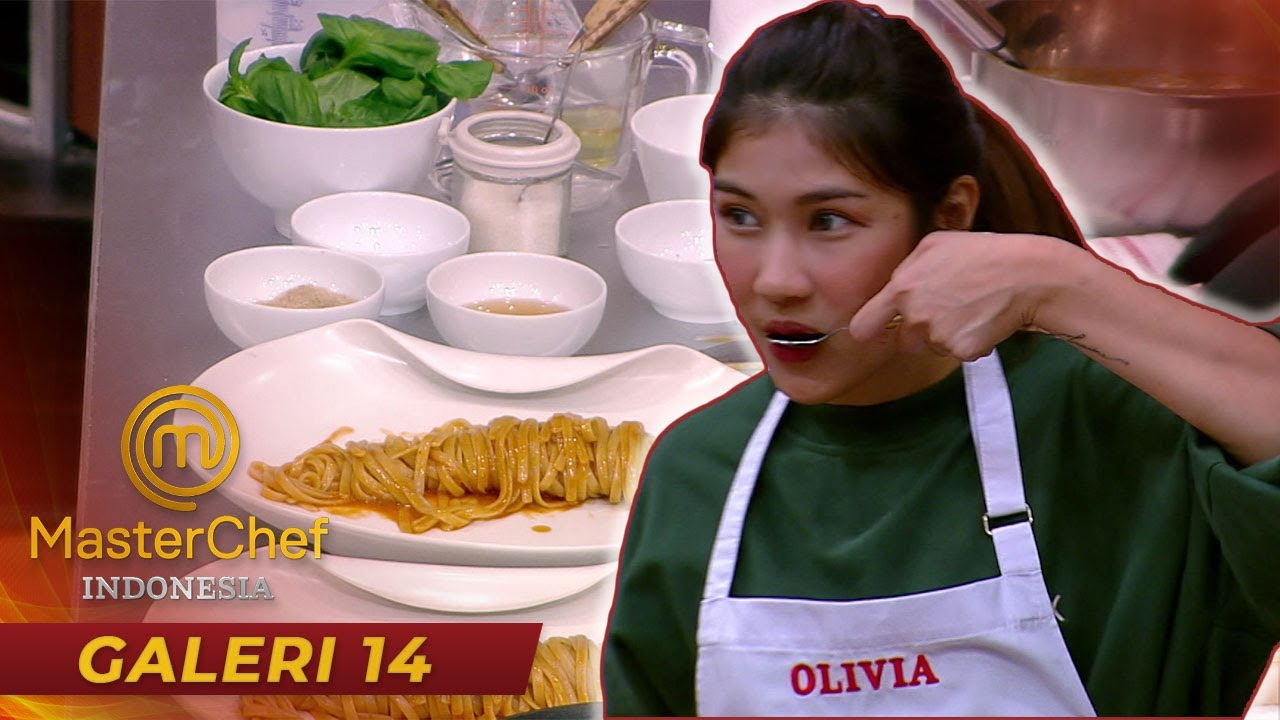 MASTERCHEF INDONESIA -  Saking Mau Perfectnya, Sampai Olivia Nyobain Air Rebusan Pasta | Galeri 14
