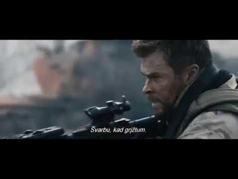 12 STIPRIAUSIŲ - karinis veiksmo filmas - kinuose nuo vasario 2 d. (anonsas)
