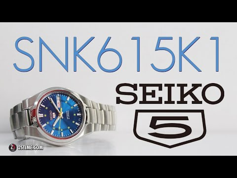 SEIKO 5 Series SNK615K1 | A Casual - Dress Watch Under 150