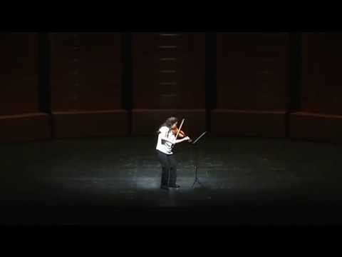 [공연] SUYOEN KIM(김수연)- Sonatas and Partitas for solo violin, BWV1001-1006 By J.S.BACH
