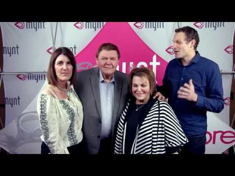 Jeunesse Founders Randy Ray and Wendy Lewis Visit mynt Headquarters