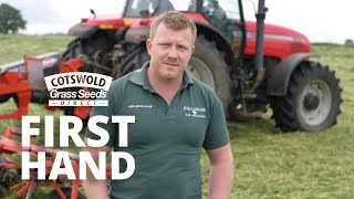 Special Maximum Yield & Hay and Graze with Mark Jervis - Cotswold Seeds First Hand