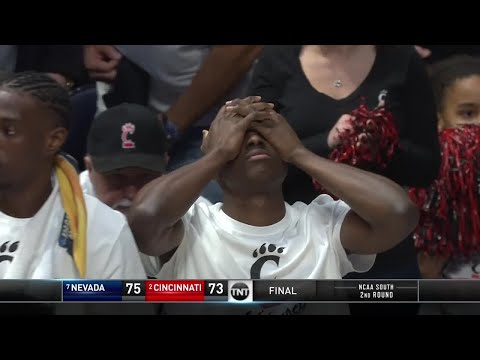 Nevada comes back from 22 points down to knock off Cincinnati