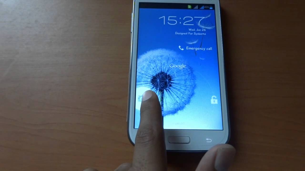 Samsung Galaxy Grand Custom ROM:CryoGate ROM Video Review - Sysberto