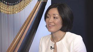 The Interview: Harpist Mariko Anraku / 安楽真理子「音楽を奏でるのは人生と同じ」
