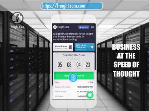 AIRDROP ALERT - Get 8,888 TKM Coins FREE www.freight-coin.com