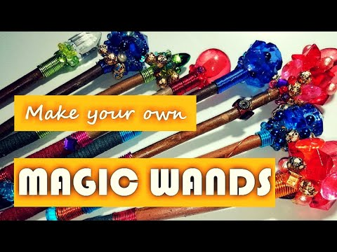 Diy Magic Wands! Easy Tutorial - Make your own magic wand!
