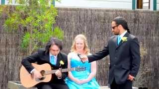 Wellington Bride sings Newton Faulkner - Dream Catch Me
