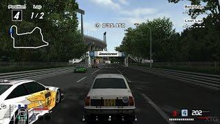 Gran Turismo 4 - Mitsubishi Lancer 1600 GSR Rally Car '74 Hybrid Cockpit View PS2 Gameplay HD