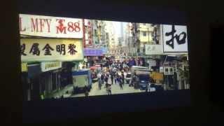 Video Test of WXGA Sony VPL-DW120 Projector.
