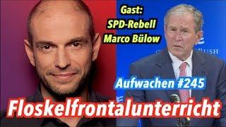 Aufwachen #245: Rückkehr der Hans Jessen Show + Gast: Marco Bülow (SPD)