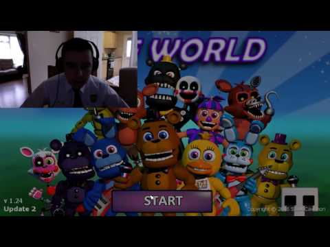 HOW TO GET ALL CHARACTERS IN FNAF WORLD MAC remake
