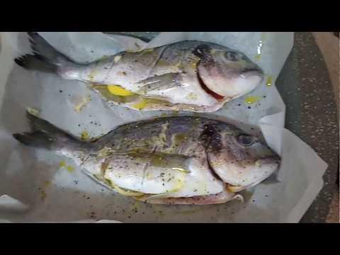 Baked Fish (Greek