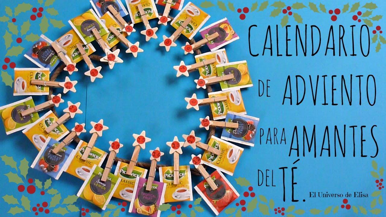 Manualidades para navidad c mo hacer un calendario de for Calendario manualidades