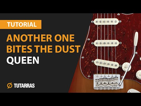 ANOTHER ONE BITES THE DUST - QUEEN How to play - Electric GUITAR LESSON