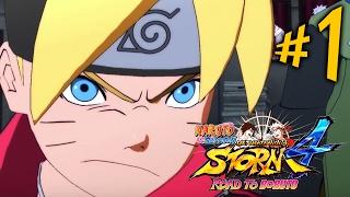 Naruto Ultimate Ninja Storm 4: Road to Boruto - Parte 1: Uzumaki Boruto!!! [ PC - Playthrough ]
