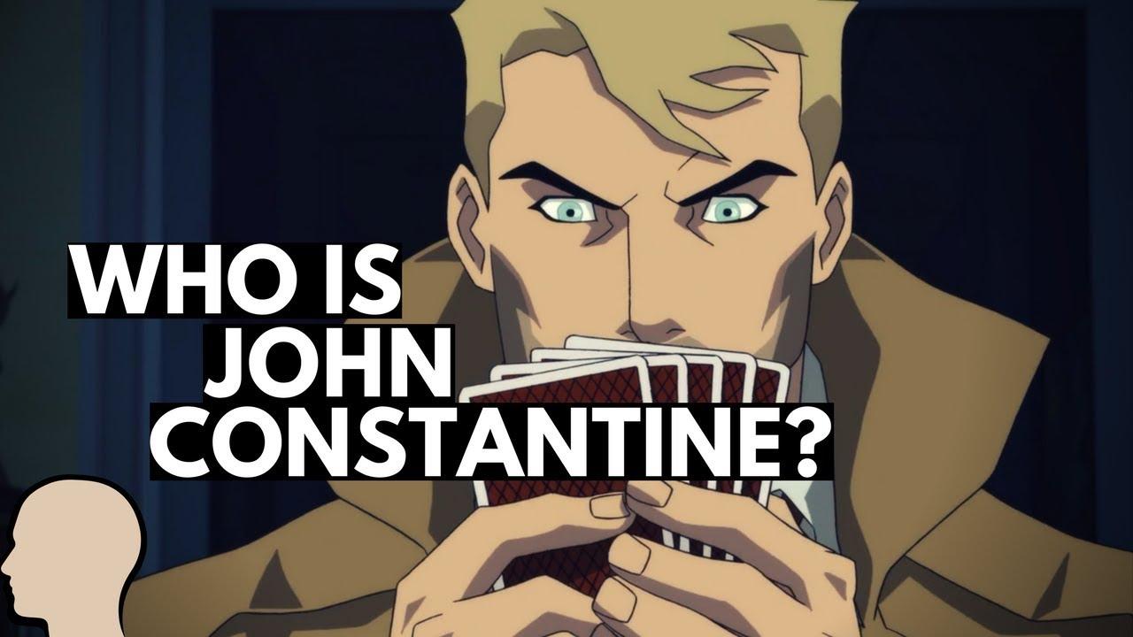 John Constantine Comic Book