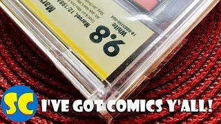New Comic & CBCS Haul (5/23/18): Amazing Spiderman 300, New Mutants 98, Detective Comics 981 & more!
