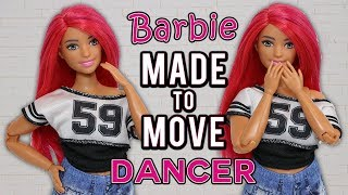 Barbie Made to Move Dancer Doll with NEW Curvy Body!