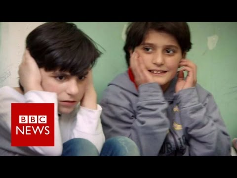 Forgetting the horror of Homs - BBC News