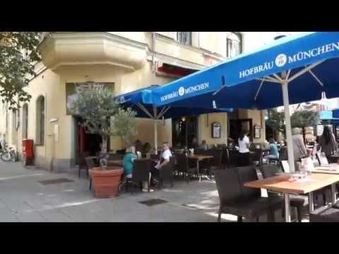 Shops Leopoldstrasse München - Impressionen Sommer 2015