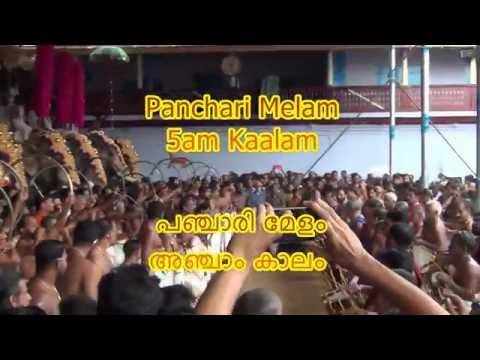 Panchari Melam | 5am Kaalam | Thippunithura | 12 Dec 2015