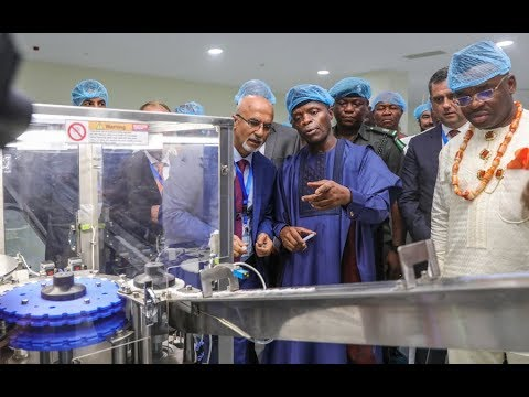 Prof. Yemi Osinbajo Commissions Jubilee Syringe Manufacturing Limited, Akwa Ibom