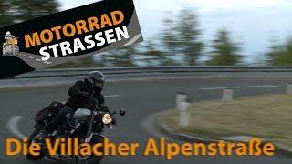 Die Villacher Alpenstraße - 116 Kurven Motorradspaß