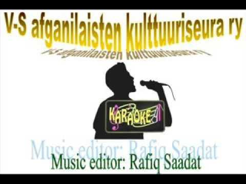 afghan karaoke  tajik dokhtarak  jawid sharif karaoke