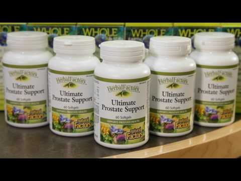 Natural Factors Ultimate Prostate Support, and Whole Earth & Sea Mens Multivitamins